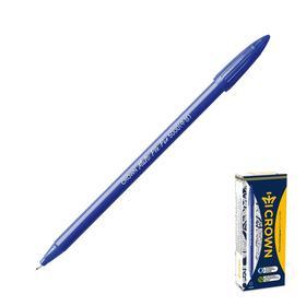 Capillary pen Crown CMP-5000 blue, plastic writing unit.