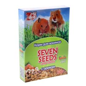 Корм для хомяков Seven Seeds с орехами, 500 г Ош