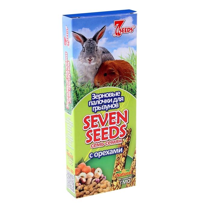 Палочки для грызунов Seven Seeds, с орехами, 2 шт.