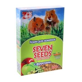Корм для хомяков Seven Seeds с фруктами, 500 г Ош
