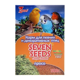 Корм Seven Seeds для птиц, просо, 500 г Ош