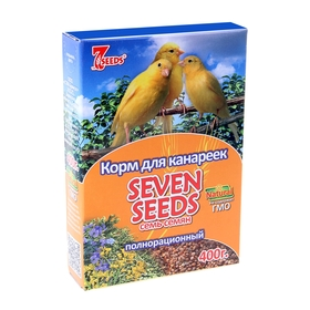 Корм Seven Seeds для канареек, 400 г Ош