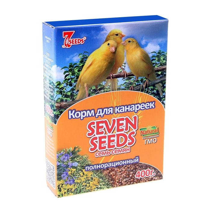 Корм Seven Seeds для канареек, 400 г