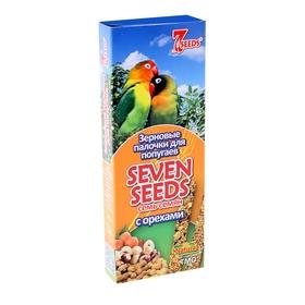 Палочки для попугаев Seven Seeds, с орехами, 2 шт. Ош