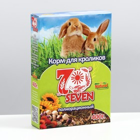 Корм для кроликов Seven Seeds, 400 г