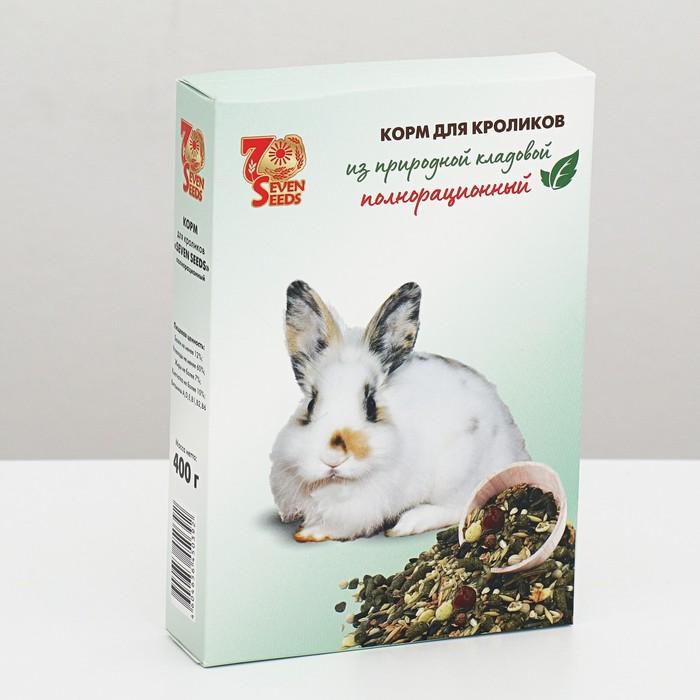 Корм для кроликов Seven Seeds, 400 гр