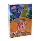 Корм для волнистых попугаев Seven Seeds с орехами, 500 гр