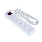 Удлинитель «Фотон», пятиместный, 2 м, с кнопкой вкл/выкл, без заземления, 10 А, 220 В