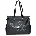 Сумка женская Black&White, 1 отдел на молнии, цвет черный