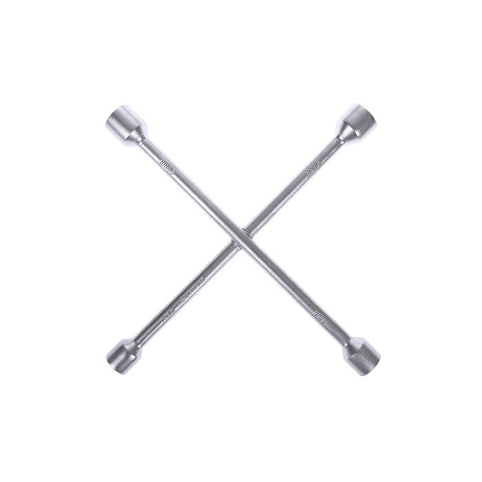Ключ баллонный крестообразный TUNDRA, 17х19х21х23 мм