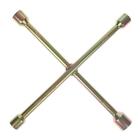 Ключ балонный TUNDRA comfort, крестообразный, желтый цинк D16х350 мм, 17х19х21х23 мм