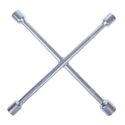 Ключ балонный TUNDRA comfort, крестообразный, сатин D16х350 мм, 17х19х21х23 мм