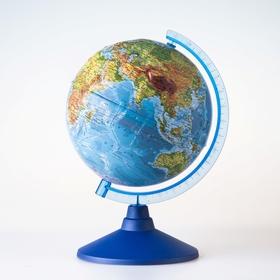 Глобус физический рельефный «Классик Евро», диаметр 250 мм