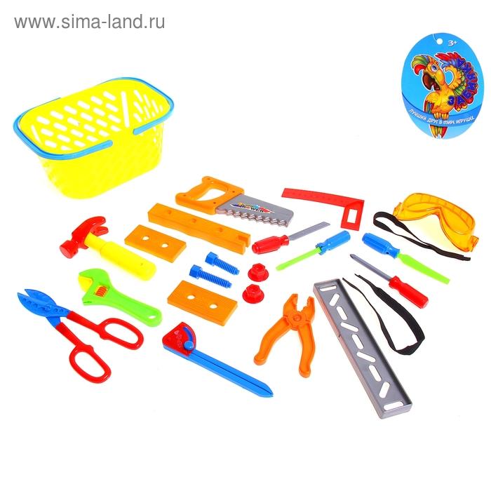 Набор инструментов в корзине, 22 предмета