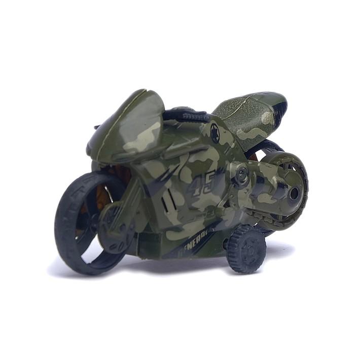 "Мотоцикл инерционный ""Байк"", цвета МИКС"