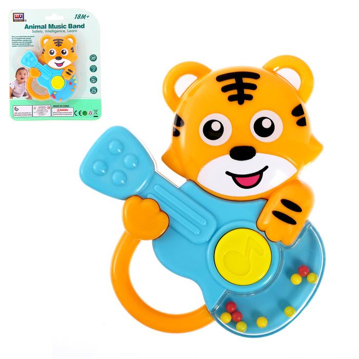 Музыкальная игрушка «Тигрёнок с гитарой»