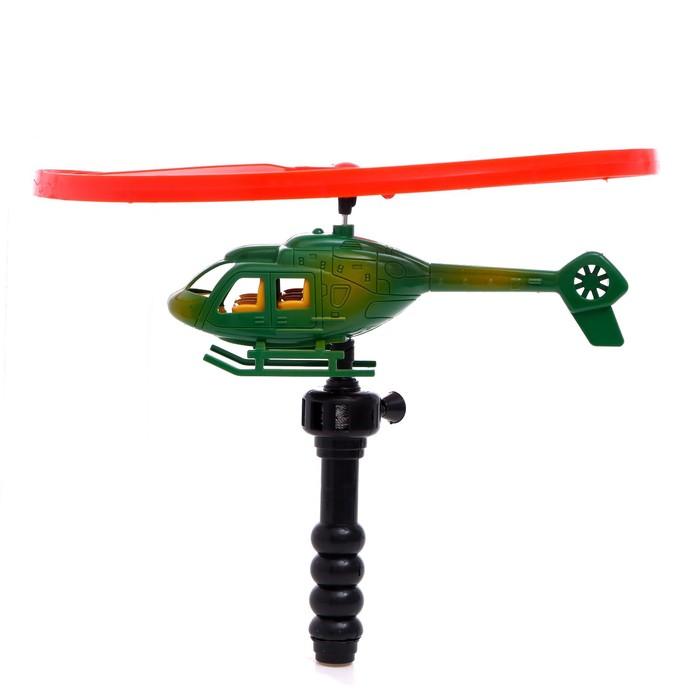 Вертолёт «Разведчик», с запуском, цвета МИКС - фото 538189535