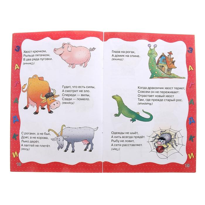 Загадки в картинках для малышей