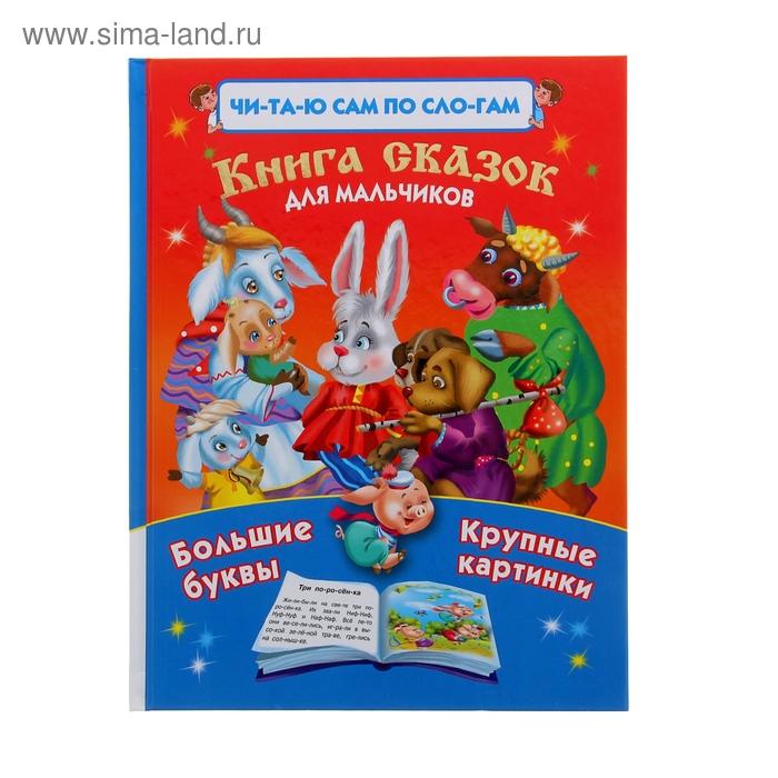 Читаю САМ по слогам.Книга сказок для мальчиков. автор Дмитриева В.Г.