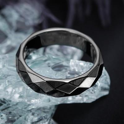 "Ring ""Hematite"" 5 mm size MIX"