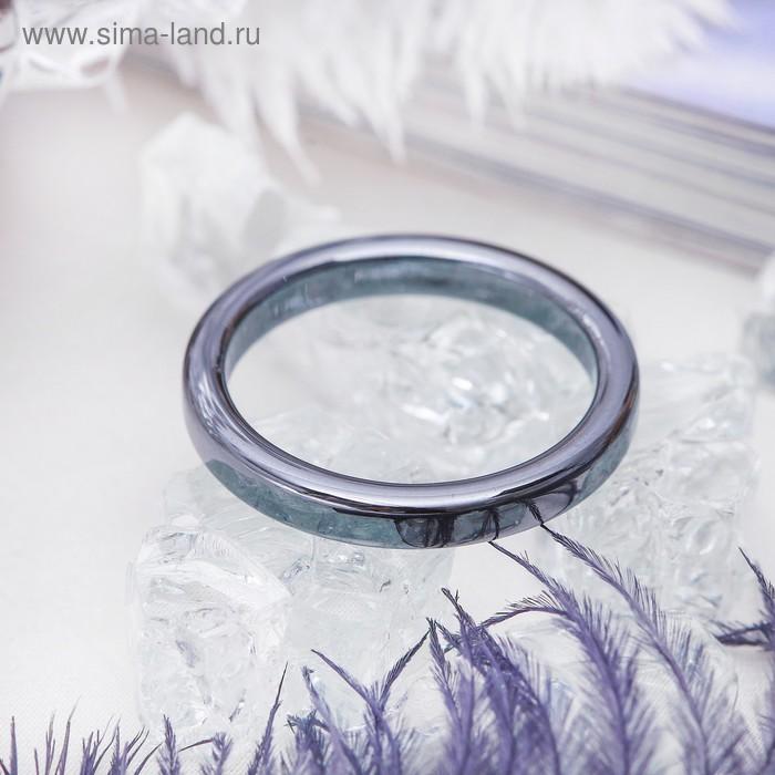 "Кольцо ""Гематит"" 2мм, размер МИКС"