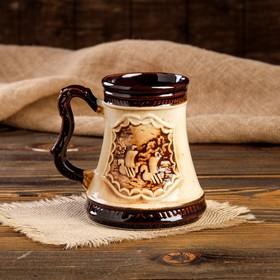 """Кружка для пива """"Атаман"""" 0,5 л - фото 1397961"""