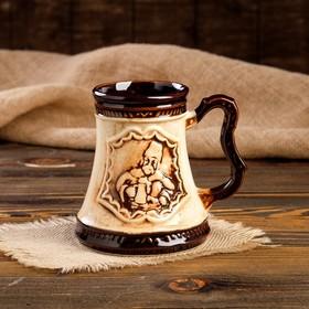 """Кружка для пива """"Атаман"""" 0,5 л - фото 1397962"""