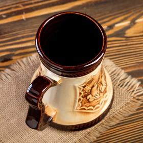 """Кружка для пива """"Атаман"""" 0,5 л - фото 1397963"""
