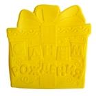 """Форма для выпечки """"С Днем рождения"""", желтый, 20 х 22 см, глубина 4 см"""