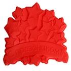 """Форма для выпечки """"С Праздником"""", красный, 23 х 23 см, глубина 4,5 см"""