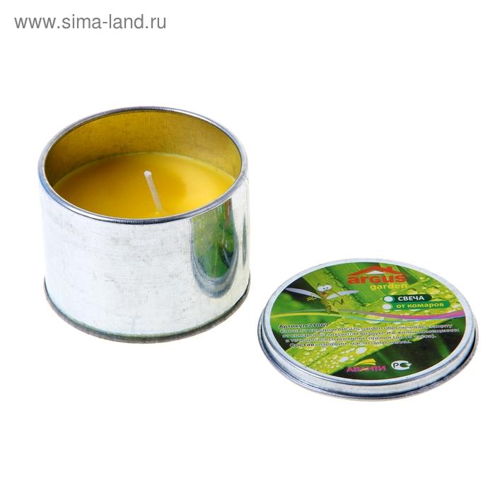 Свеча антимоскитная ARGUS garden банка с крышкой 90грамм /40