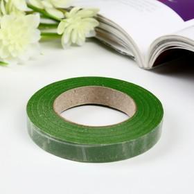 """Тейп-лента """"Зелёная"""" намотка 27,3 метра ширина 1,2 см"""