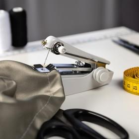 Швейная машинка LuazON LSH-08, механическая, портативная, белая Ош
