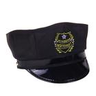 """Шляпа полицейского детская """"Младший лейтенант"""", р-р. 52"""