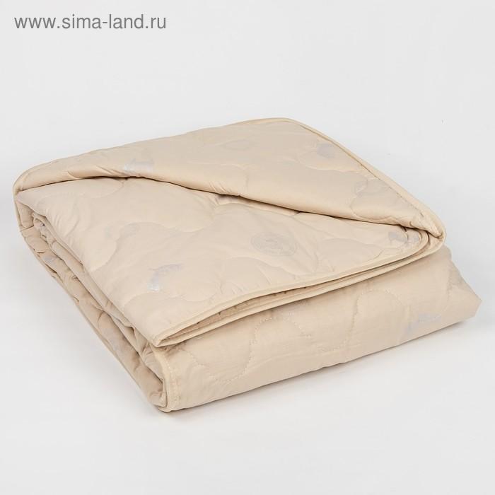 """Одеяло всесезонное Адамас """"Овечья шерсть"""", размер 200х220 ± 5 см, 300гр/м2, чехол тик"""