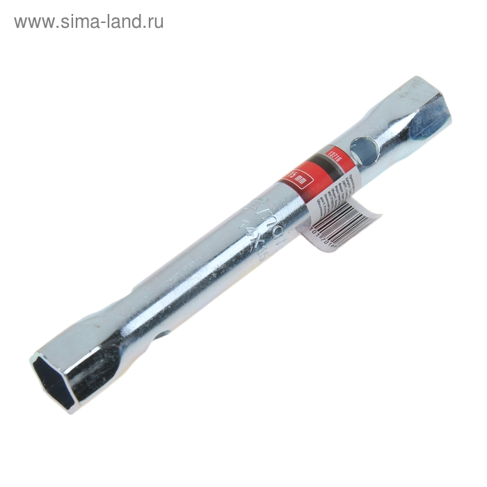 Ключ-трубка торцевой MATRIX, 14 х 15 мм, оцинкованный