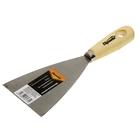 Шпатель малярный Sparta, 80 мм, нержавеющая сталь, ручка дерево