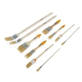 A set of Sparta brushes, 10 pcs, flat 1/2