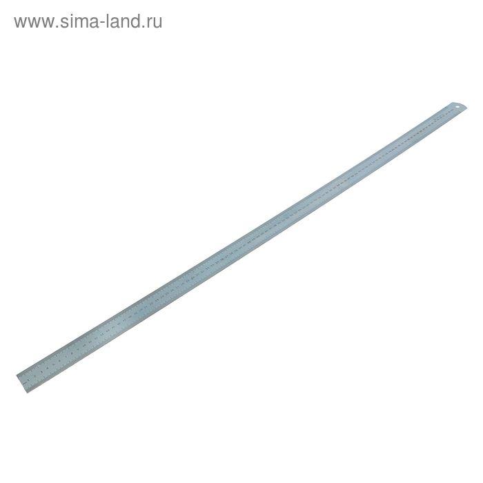 Линейка измерительная, 1000 мм, металлическая