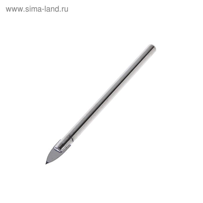 Сверло по керамической плитке MATRIX, 6 мм, цилиндрический хвостовик