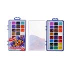 Акварель Lori, 24 цвета, в пластиковой коробке, без кисти