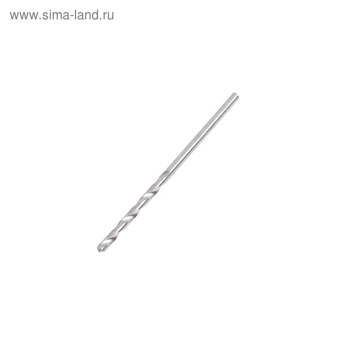 Сверло по металлу MATRIX, 2 мм, полированное, 10 шт, цилиндрический хвостовик