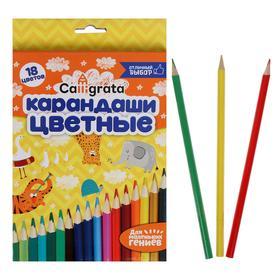 Pencils 18 colors School talent