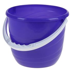 Ведро без крышки 10 л 'Practic', цвет лазурно-синий Ош