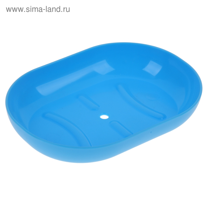 Мыльница Aqua, цвет голубая лагуна