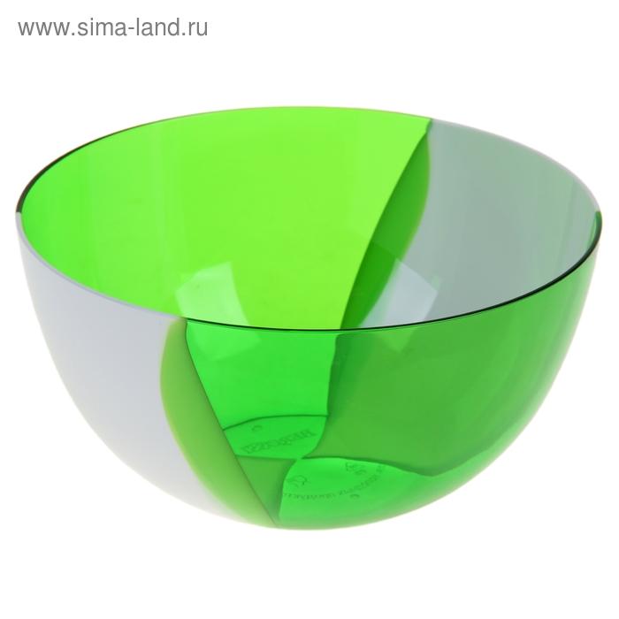 Салатник Dolce, 1 литр, зелено-белый