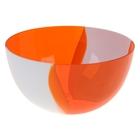 оранжево-белый
