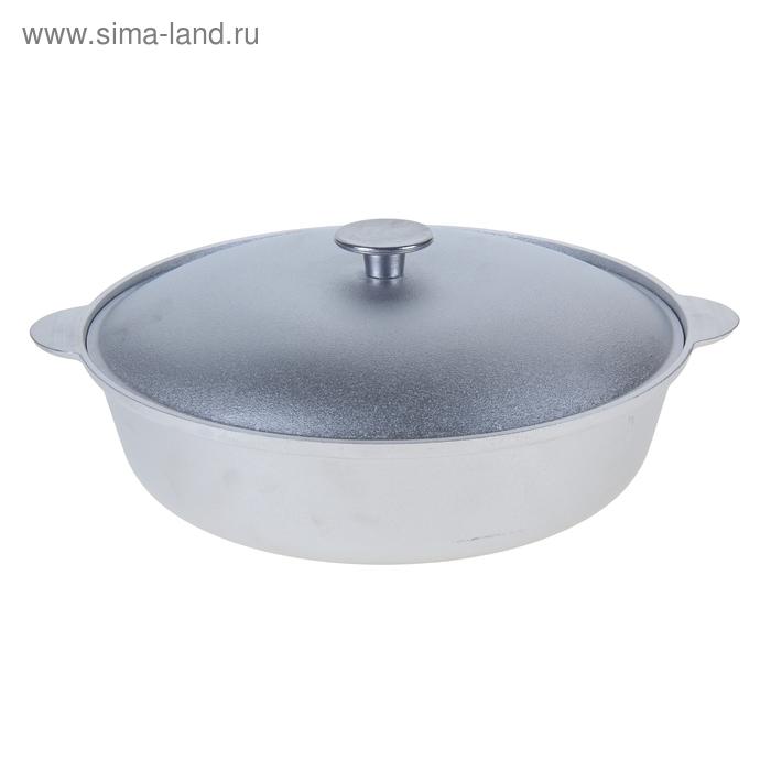 Сковорода с ручками и крышкой, d=30 см