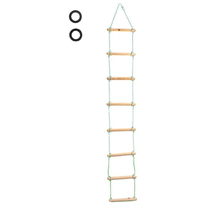 Веревочная лестница, длина 2 м, d=32мм.