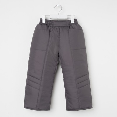 Брюки для мальчика 60601 рост 104-110 (28), цвет темно-серый